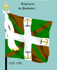 Image illustrative de l'article Régiment de Penthièvre (1737)