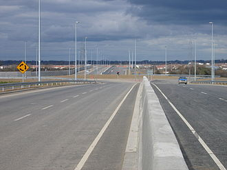 Regional road (Ireland) - The R136 Outer Ring Road in southwest Dublin