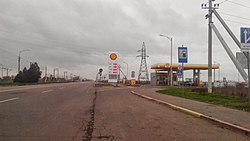 R47 Road in Henichesk.jpg