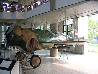 Curtiss BF2C Goshawk - Curtiss BF2C Goshawk at the Royal Thai Air Force Museum