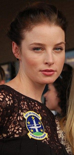 Rachel Nichols (actress) - Nichols at a premiere for G.I. Joe: The Rise of Cobra, July 2009