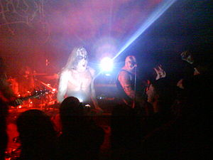 Ragnarok (Norwegian band) - Ragnarok performing live in Sarpsborg in 2010