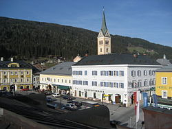 Main square and parish church