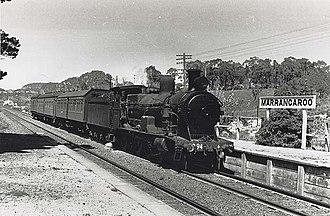 Marrangaroo, New South Wales - Marrangaroo station c. 1950s.