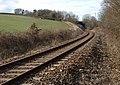 Railway line, Penstone - geograph.org.uk - 1772538.jpg