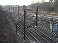 Railway tracks to the west of Upminster station - geograph.org.uk - 1221301.jpg