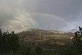 Rainbow near Abiskojaure - panoramio.jpg