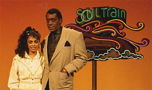 English: Rainy Davis - Soul Train / Don Cornelius