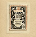 Ralph Fletcher Seymour Bookplate-Preston A Perry.jpg