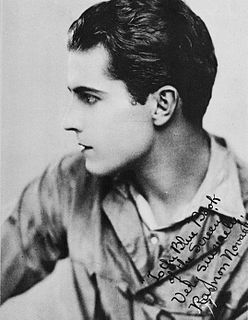 Ramon Novarro Mexican-American film, stage and television actor