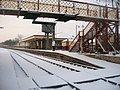 Ramsbottom Railway Station in Winter - geograph.org.uk - 1178228.jpg