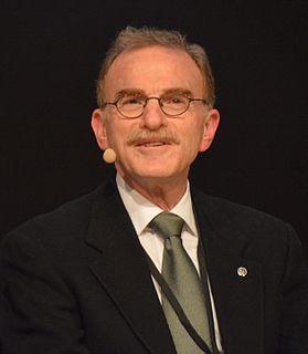 Nobel prize winning American cell biologist