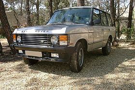 Image illustrative de l'article Range Rover Classic