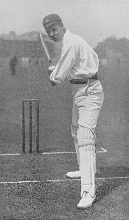 Ranji 1897 page 058 T. Hayward in the attitude for the on-drive.jpg
