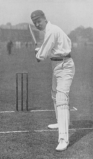 Tom Hayward - Image: Ranji 1897 page 058 T. Hayward in the attitude for the on drive