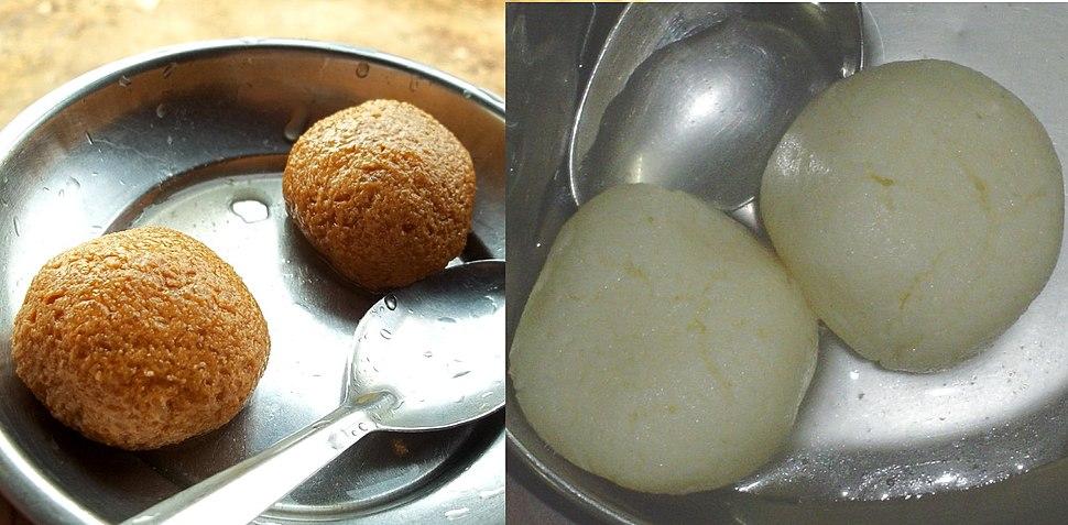Rasgullas from Odisha and Bengal.jpg
