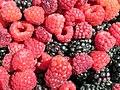Raspberries and blackberries (9423972893).jpg