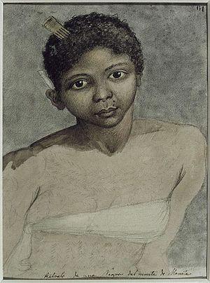 Juan Ravenet - Woman from the Mountains near Manila