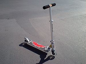English: Razor Pro Model built in Feb. 2010