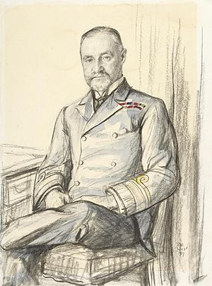 Richard Phillimore - 1917 portrait by Francis Dodd