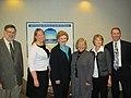 Receiving an award from the Michigan Health & Hospital Association (6877745244).jpg