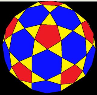 Rectified truncated icosahedron