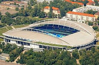 2005 FIFA Confederations Cup - Image: Red Bull arena, Leipzig von oben Zentralstadion