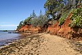Red Cliffs of Scarborough continues to erode-1 (33524922841).jpg