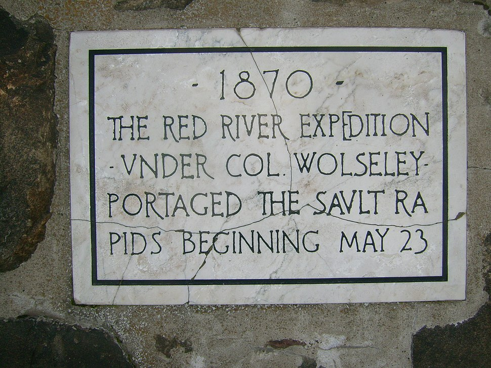 Red River Expedition cairn 2