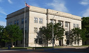 Red Willow County, Nebraska - Image: Red Willow County, Nebraska courthouse from SE 1