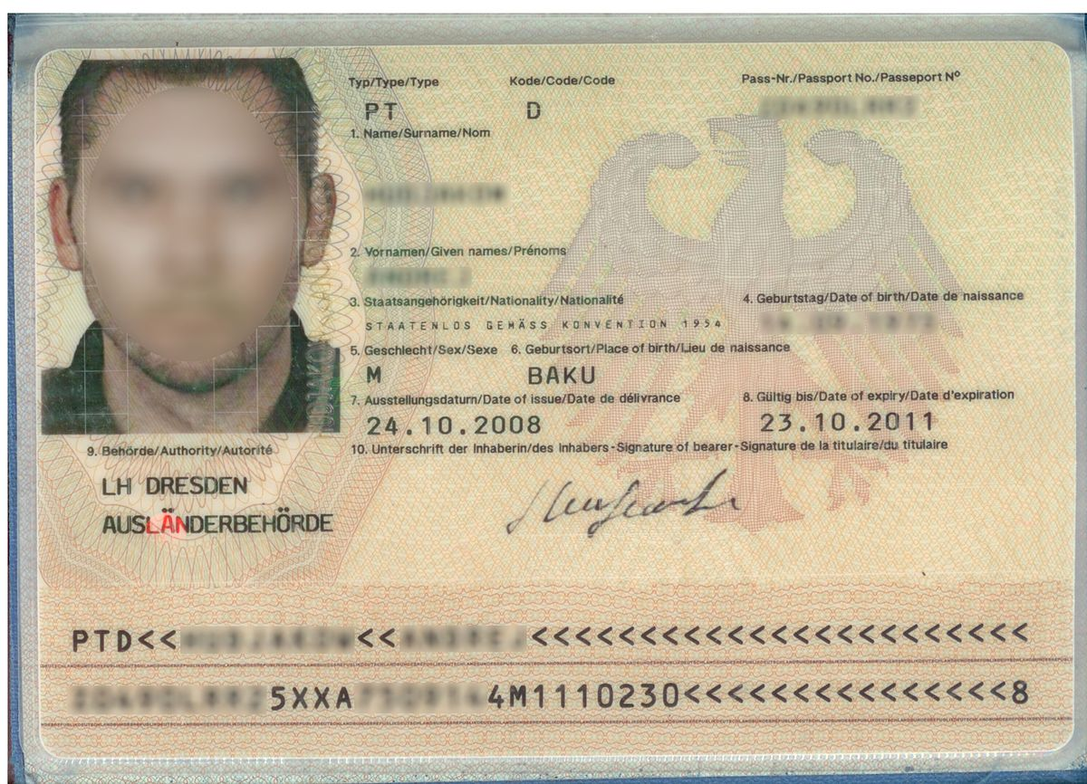 American Travel Document For Green Card Holders