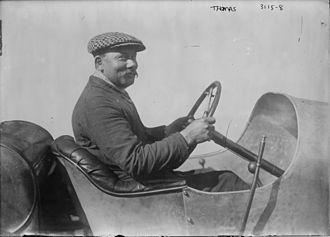 1914 Indianapolis 500 - Image: René Thomas at 1914 Indy 500