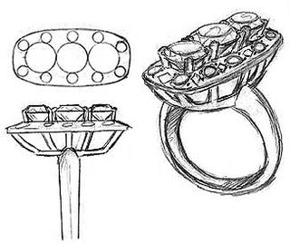 art of designing and creating jewellery