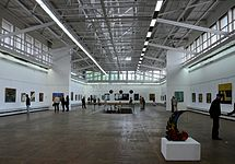 Republican exhibition of monumental and decorative arts Spector 18.06.2014 Palace of Arts Minsk 01.jpg