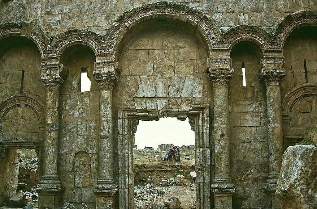 Сирийский город Ресафа и Базилика Св. Сергия, V в. Сирия