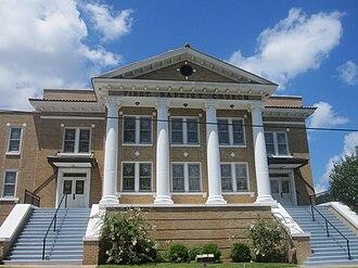Haynesville, Louisiana - Image: Revised photo of Haynesville Baptist Church IMG 2202