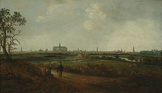 Haerlempjes type of painting that includes a view of Haarlem
