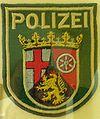 Rhineland-Palatinate State Police patch.JPG