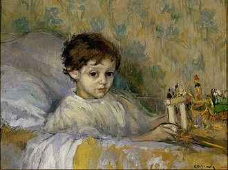 Ricard Canals - Image: Ricard Canals Sick Child (Octavi, the artist's son) Google Art Project