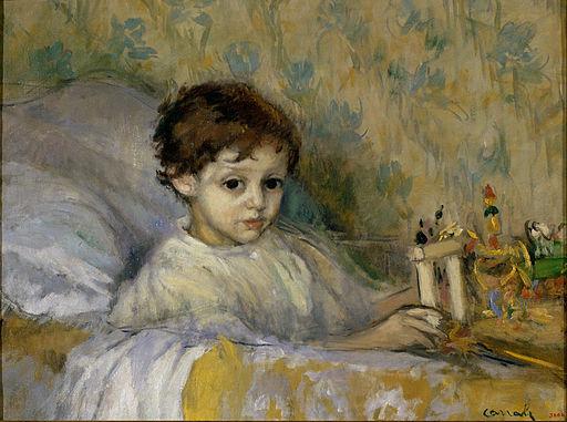 Ricard Canals - Sick Child (Octavi, the artist's son) - Google Art Project