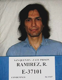 Richard Ramirez American serial killer
