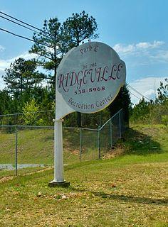 Ridgeville, Alabama Town in Alabama, United States