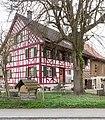 Riegelhaus Dorfstrasse 9 in Kefikon TG (Gachnang).jpg