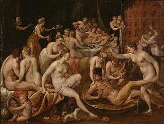 1570 in art - Image: Rijckere, Bernaert di Le Festin des Dieux 16th century