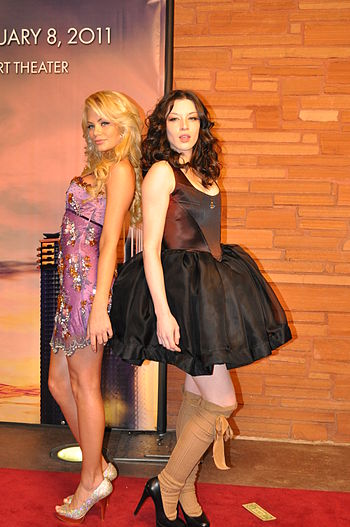 Riley Steele and Stoya at AVN Awards 2011
