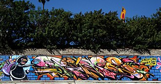Wildstyle - Wildstyle in Los Angeles by RIME