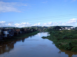 Una River (Pernambuco) - The Una near Palmares
