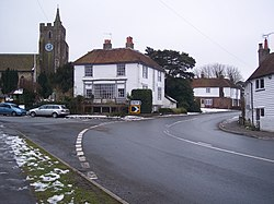 Road junction in Rolvenden - geograph.org.uk - 1711069.jpg