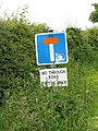 Road sign - geograph.org.uk - 863522.jpg