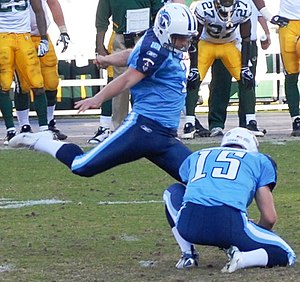 Rob Bironas - Bironas with the Titans in November 2008